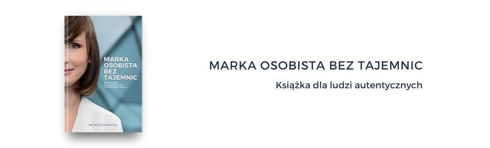 Monika Gawanowska - książka o budowaniu marki osobistej